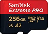SanDisk Extreme Pro 256GB microSDXC Memory Card +...