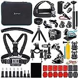 Homesuit Action Kamera Zubehör-Kit 58-In-1 für...