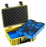 B&W Outdoor Case Hartschalenkoffer Typ 4000, Inlay...